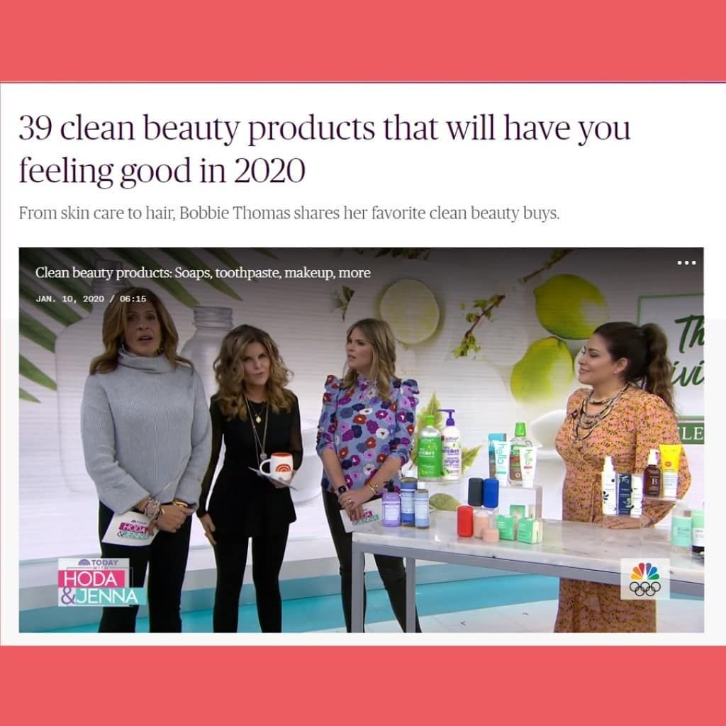 Beautycounter Was Featured On The Today Show This Morning In 2020 How Are You Feeling Beauty Buys Clean Beauty