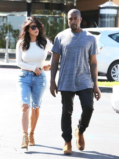 "crazyforkardashianss: ""Kim and Kanye leaving cinema in Calabasas - 19/10/14 """