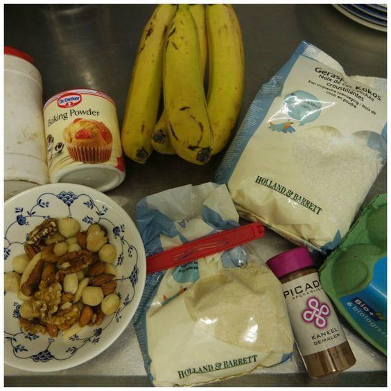 recipe healthy banana coconut cake