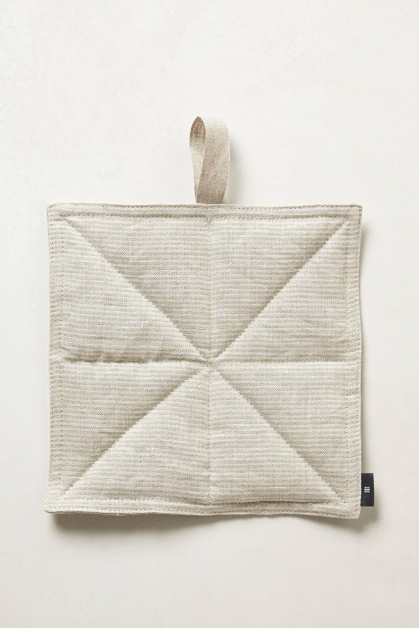 White pot holders for crafts - Octogonal Potholder Anthropologie Com