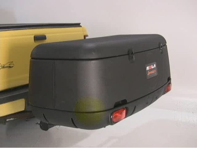 Rola Tilting Enclosed Cargo Carrier For 2 Quot Trailer Hitches
