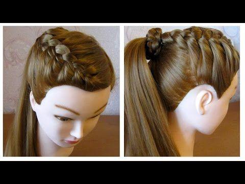 Tuto Coiffure Cheveux Long Coiffure Chignon Facile Maison Design
