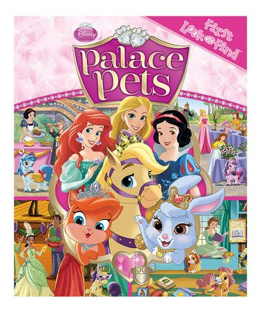 Palace Pets My First Look And Find Book Palace Pets Disney Princess Palace Pets Princess Palace Pets