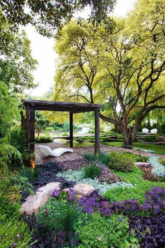 Relaxing Flower Garden Design 252 Kebun