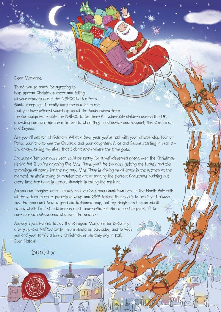 letter from santa | santa | santa letter, santa, christmas