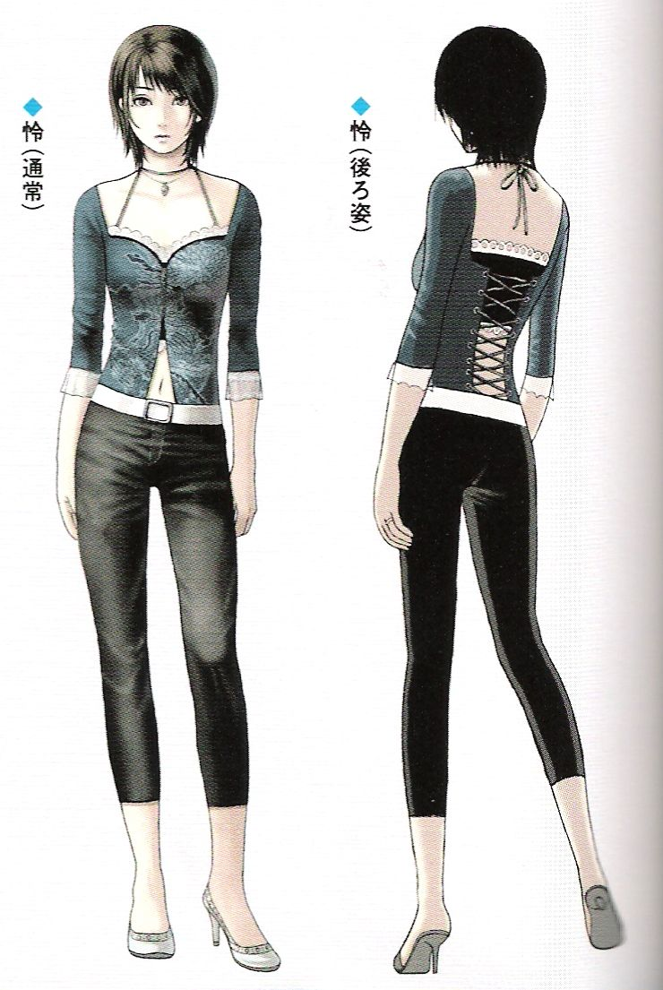 Fatal Frame III: The Tormented, Rei default costume concept | video ...