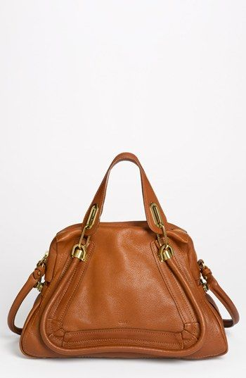 $1,950, Chloe Paraty Medium Leather Satchel by Chloé. Sold by Nordstrom.