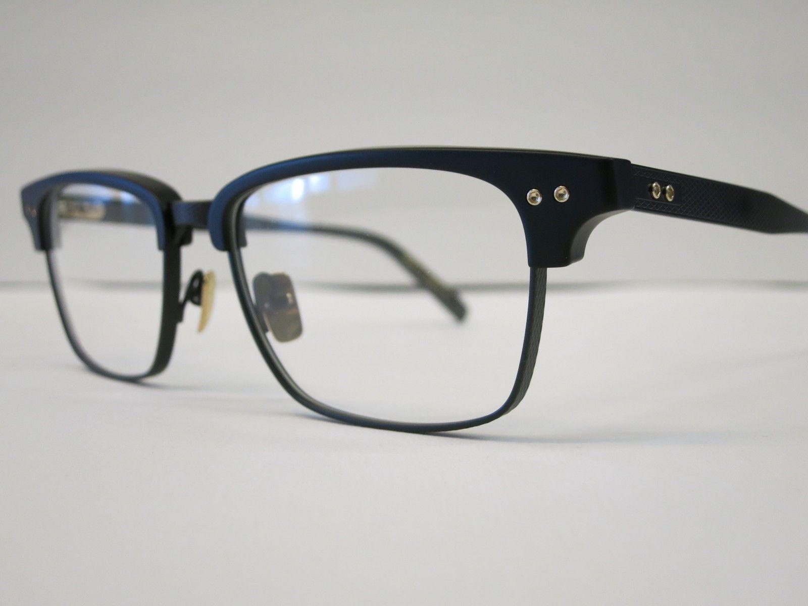 726ea5c68489 DITA STATESMAN THREE Matte Black Glasses Eyewear Eyeglass Frame DRX-2064C  NEW