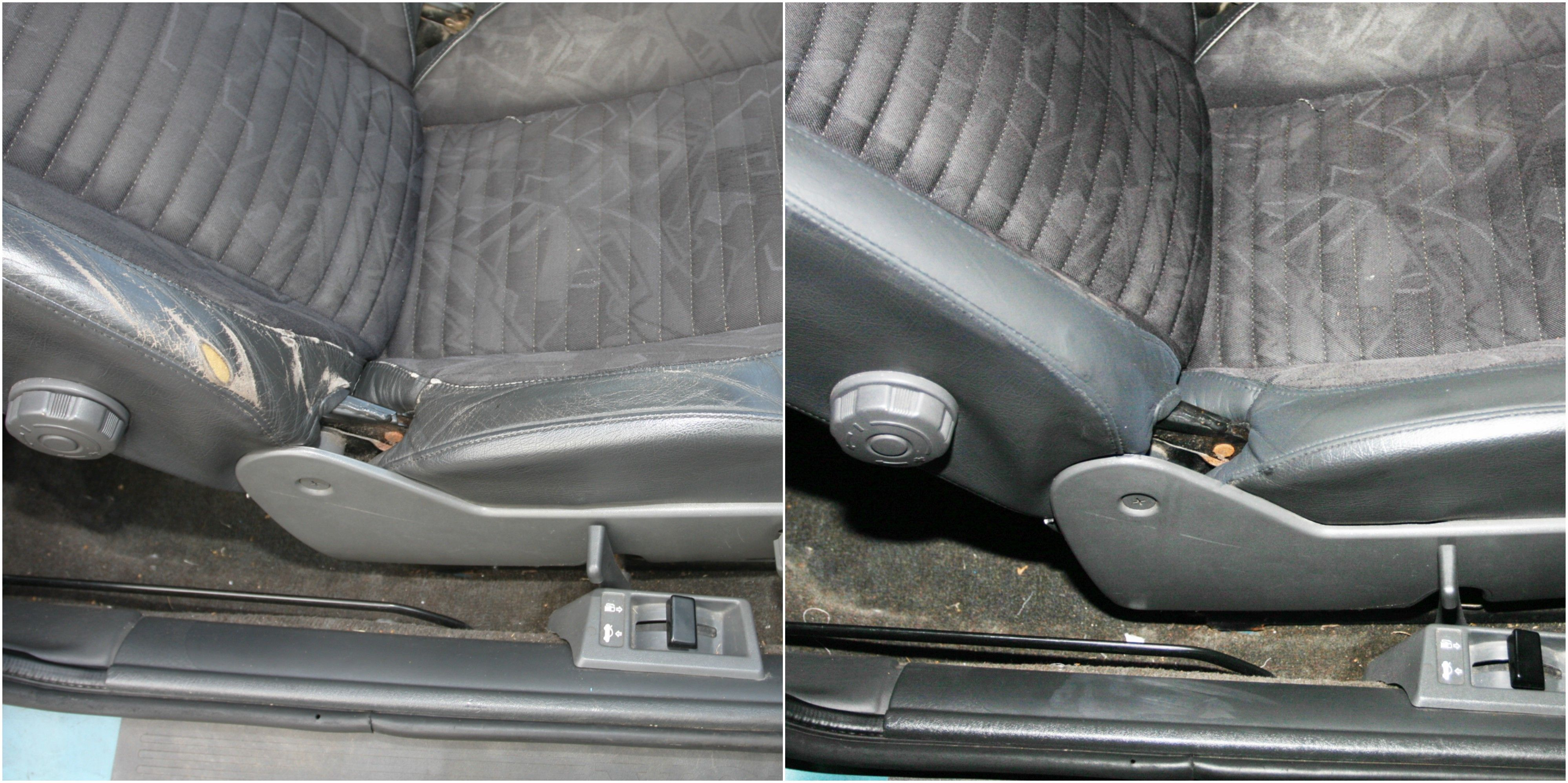 How To Repair Scuffs Scratches And Tears In A Leather Car Bolster Or Seat