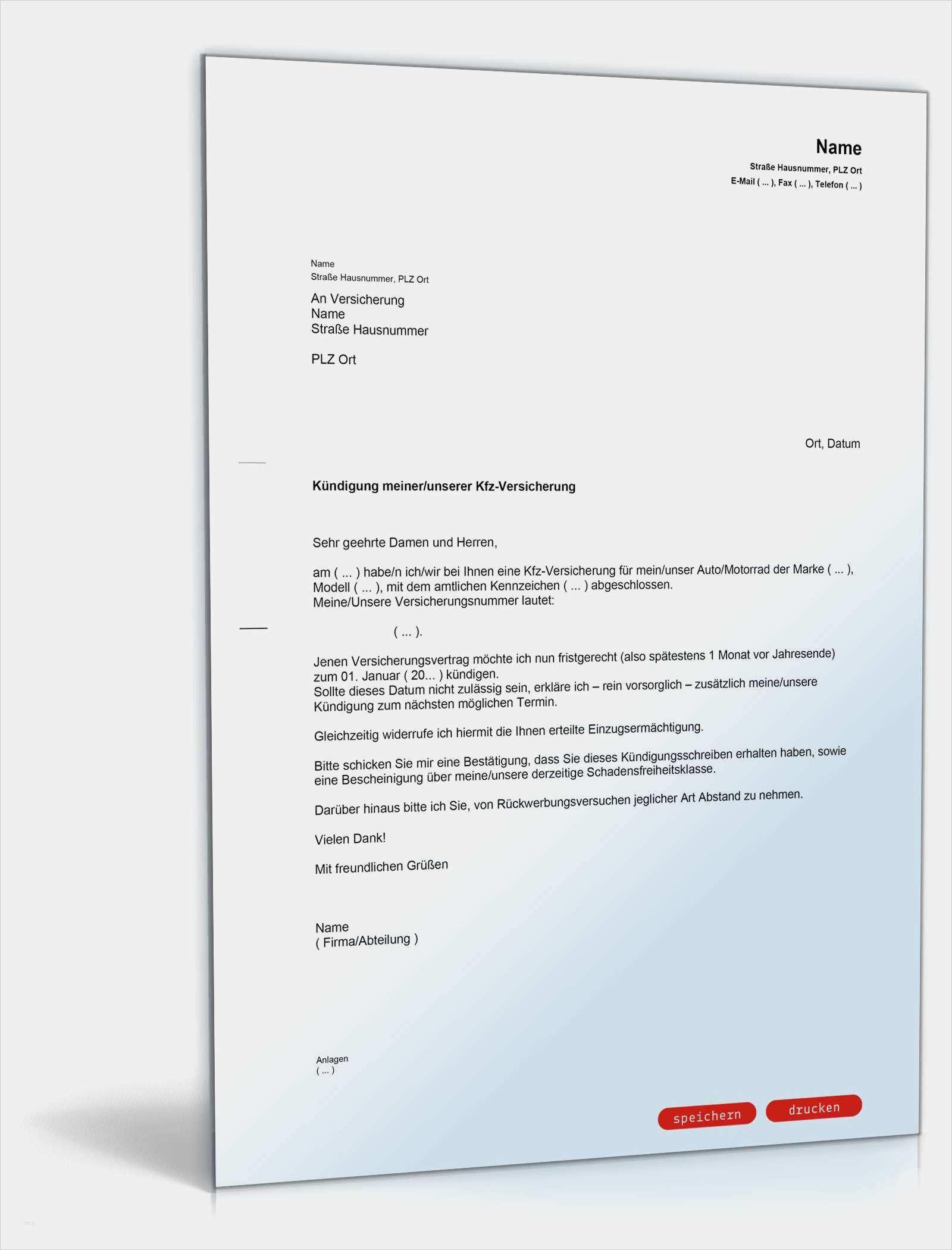 Wunderbar Vorlage Kundigung Kfz Versicherung Sonderkundigungsrecht Galerie In 2020 Kfz Versicherung Lebenslauf Vorlagen Word Lebenslauf