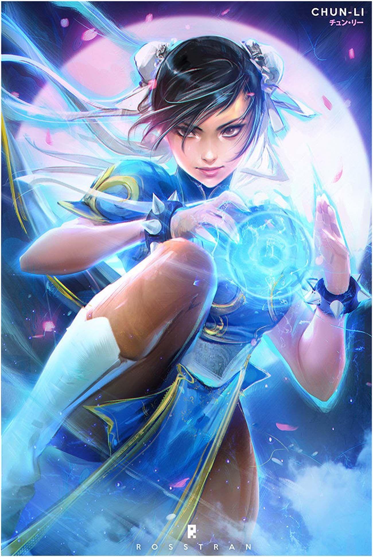 Digital Painting Inspiration Vol 23 Personagens Street Fighter