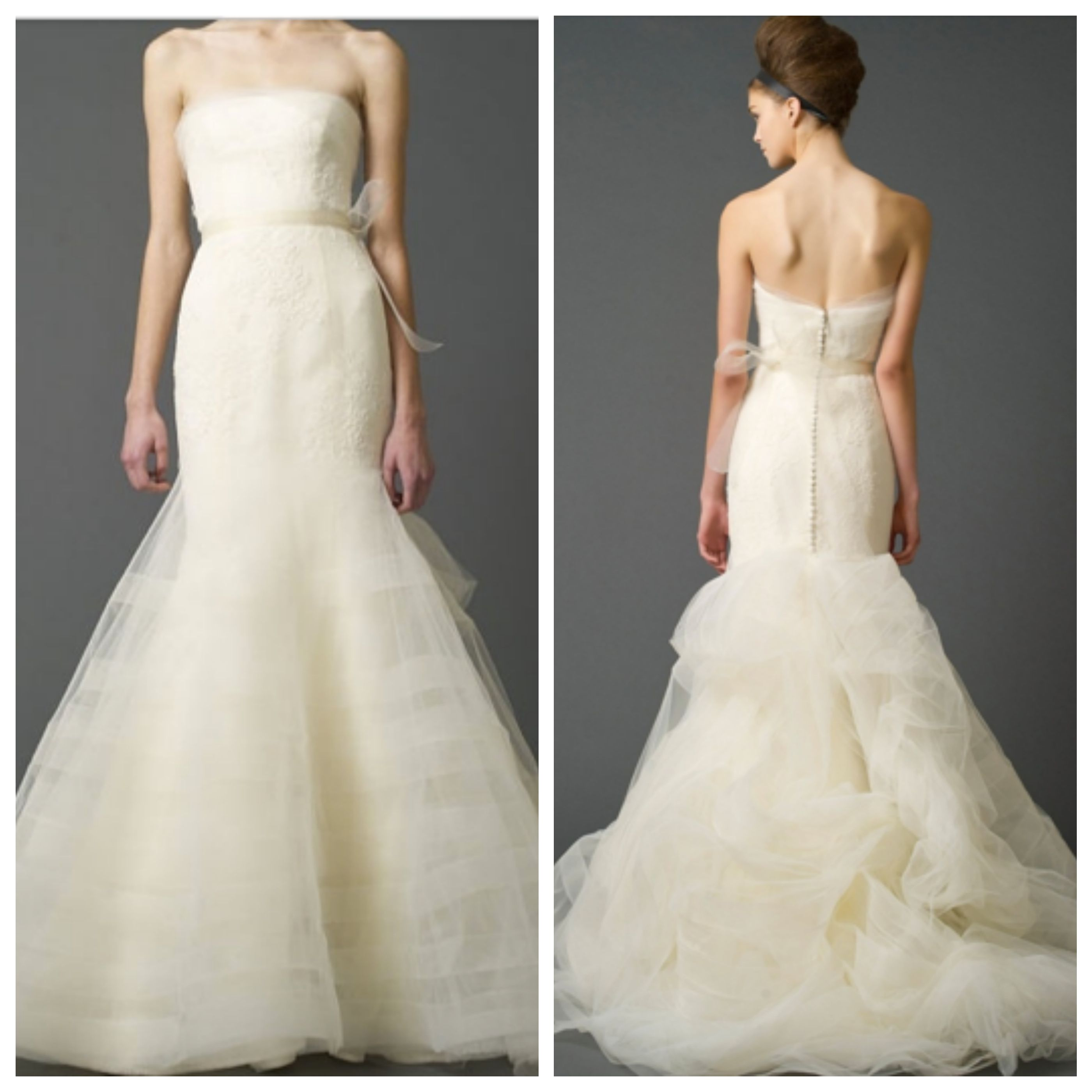 Vera Wang Georgina Bridal Gown B Hughes Bridal Formal