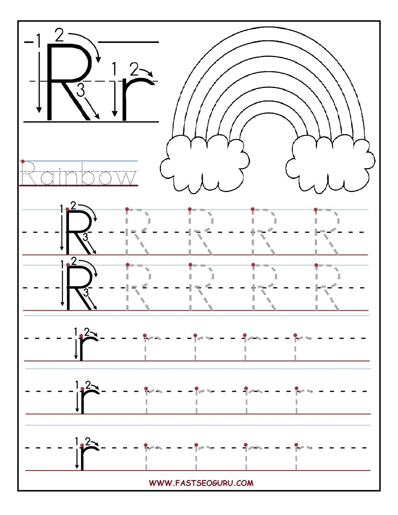Letter R Coloring Pages For Preschool Coloring Pages Coloring Pages To Print Letter R