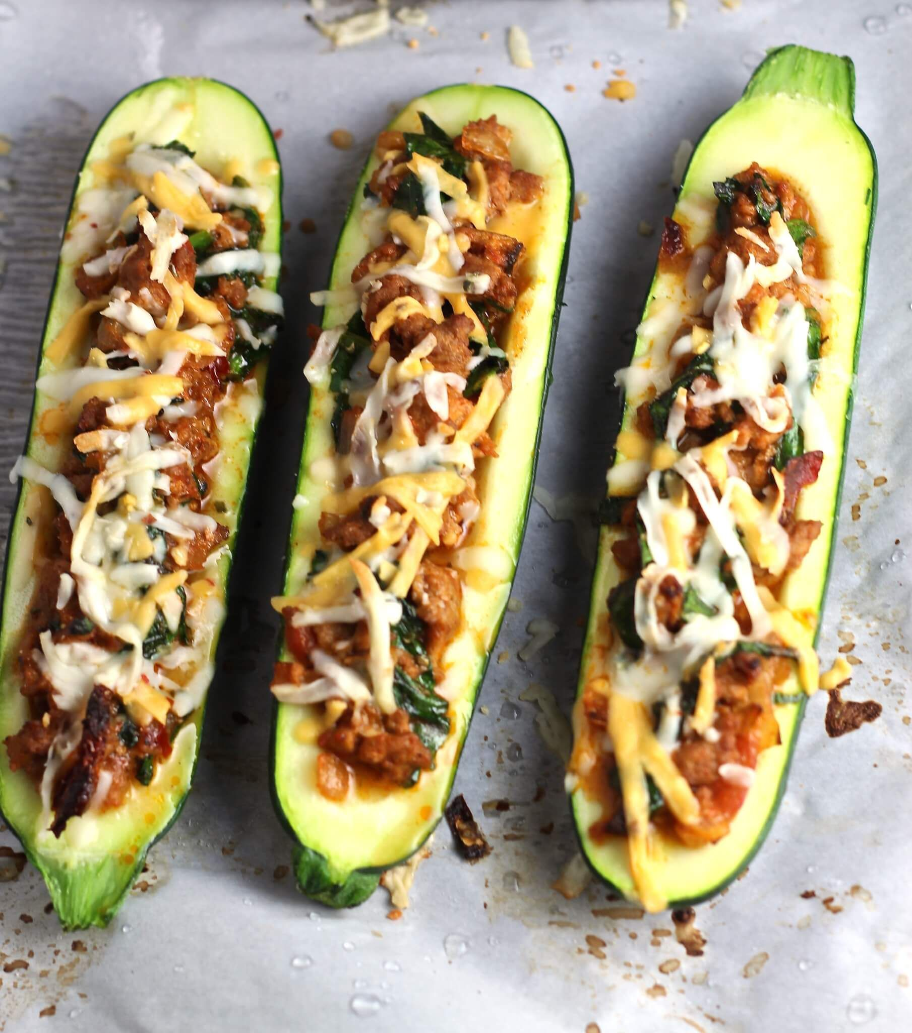 Saucy Stuffed Zucchini Recipe: This Stuffed Zucchini Recipe Is Super Filling With Ground
