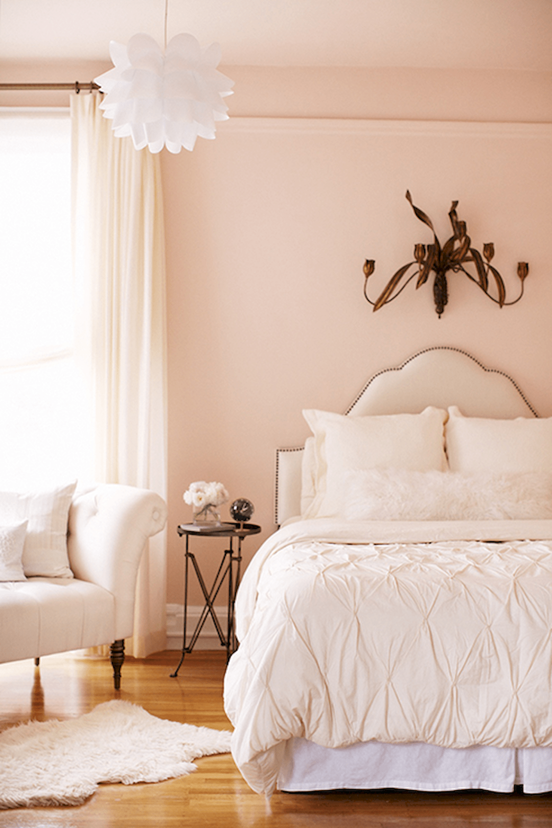Awesome Pale Pink Walls Home, Home bedroom, Peach bedroom