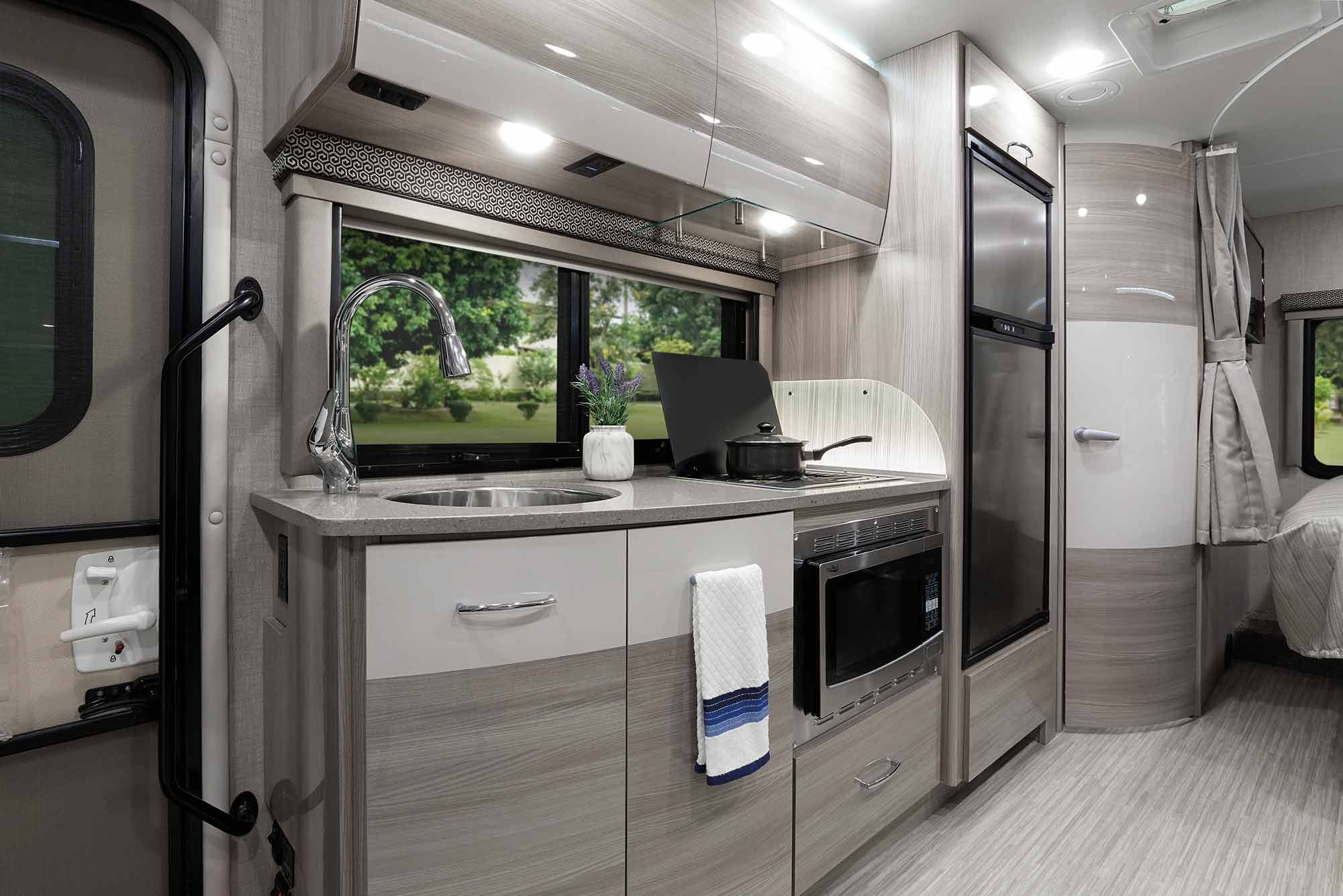 An Easy To Drive Motorhome On A Sprinter Chassis The Tiburon