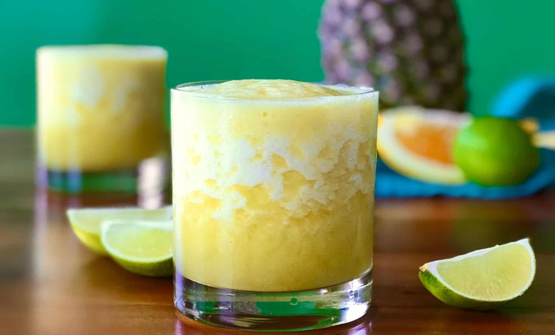 Frozen pineapple virgin margarita whole30 no sugar added