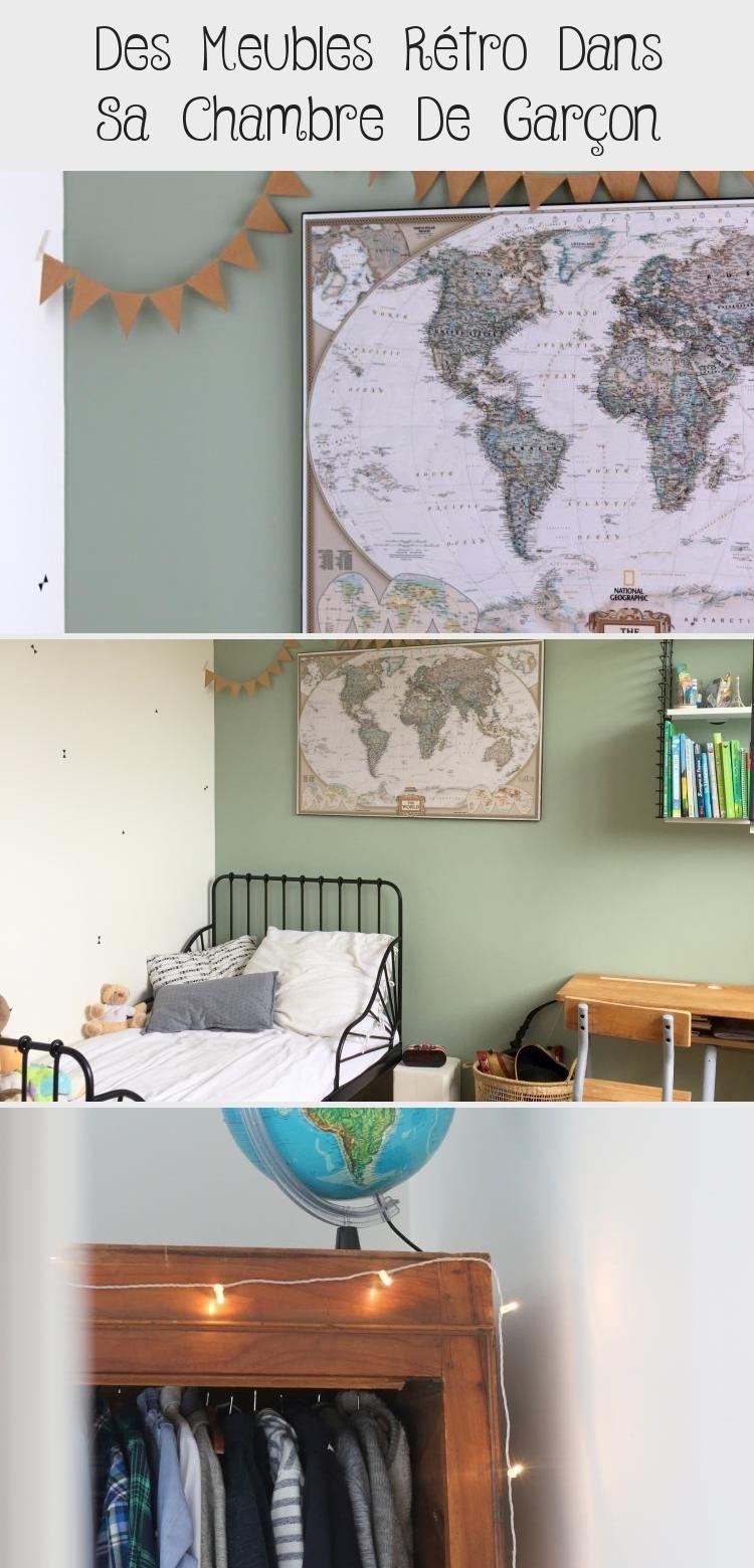 Chambre Garcon Vert Noir Bois Chambre Retro Vintage Decowallpaper Decodecor Decomurale Decobedroom Decomeshwreaths In 2020 Home Decor Decor Home Decor Decals