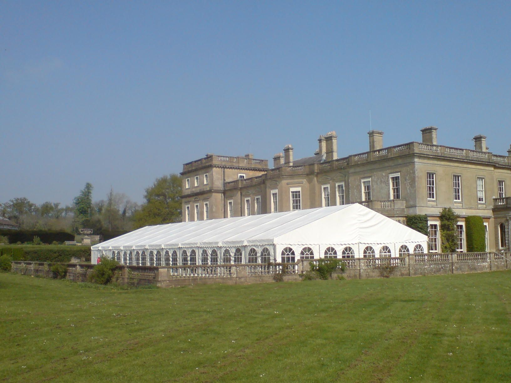 Frame Marquee With Georgian Windows