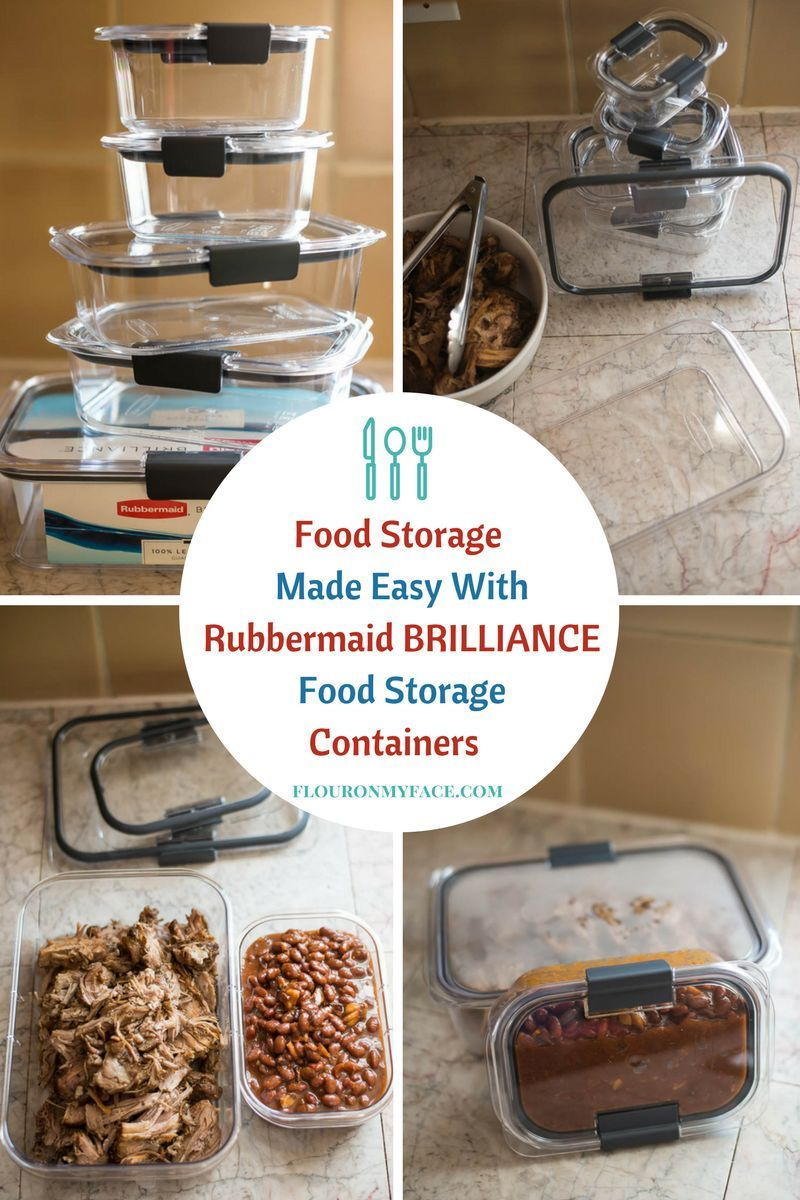 Rubbermaid Brilliance Food Storage Container Set 22 Piece Clear Rubbermaid Brilliance Food Storage Containers  Pinterest  Food