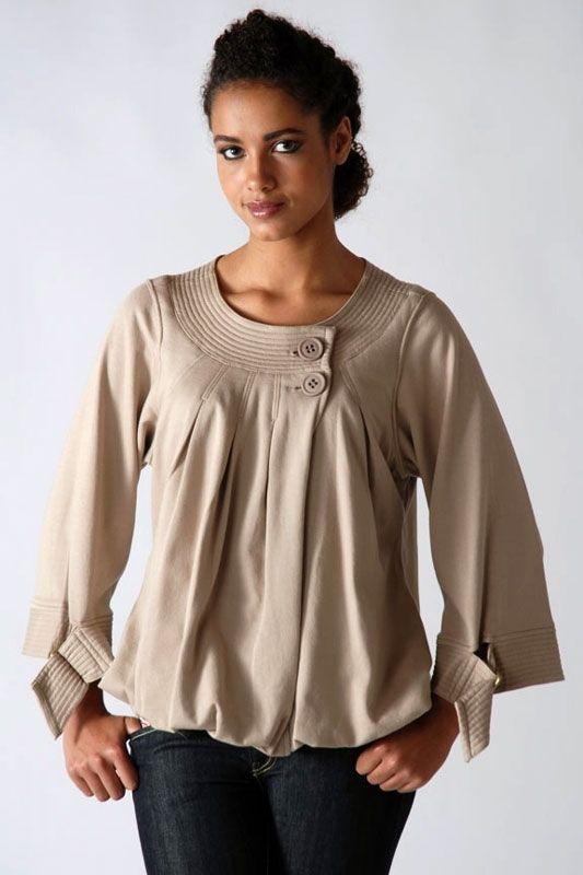 Платья и блузки на полных с фото