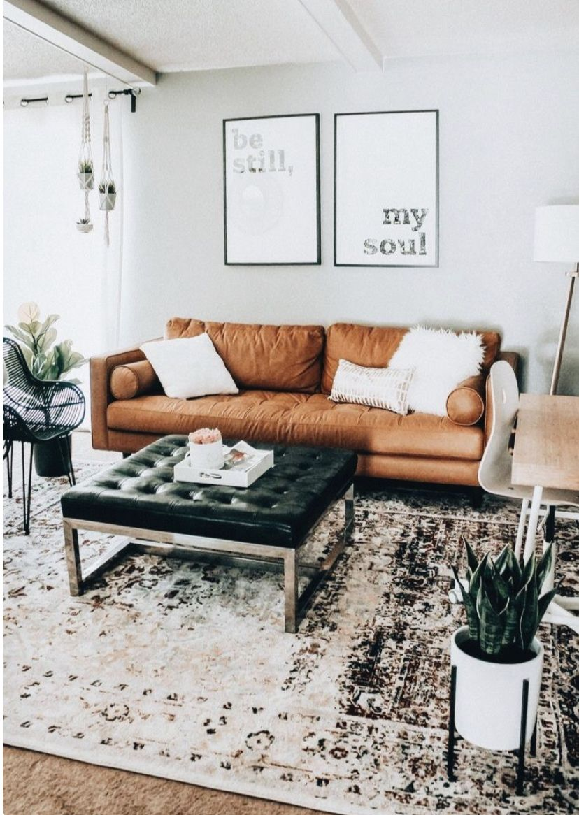 Pinterest Joyful Grace Brown Leather Couch Living Room Brown