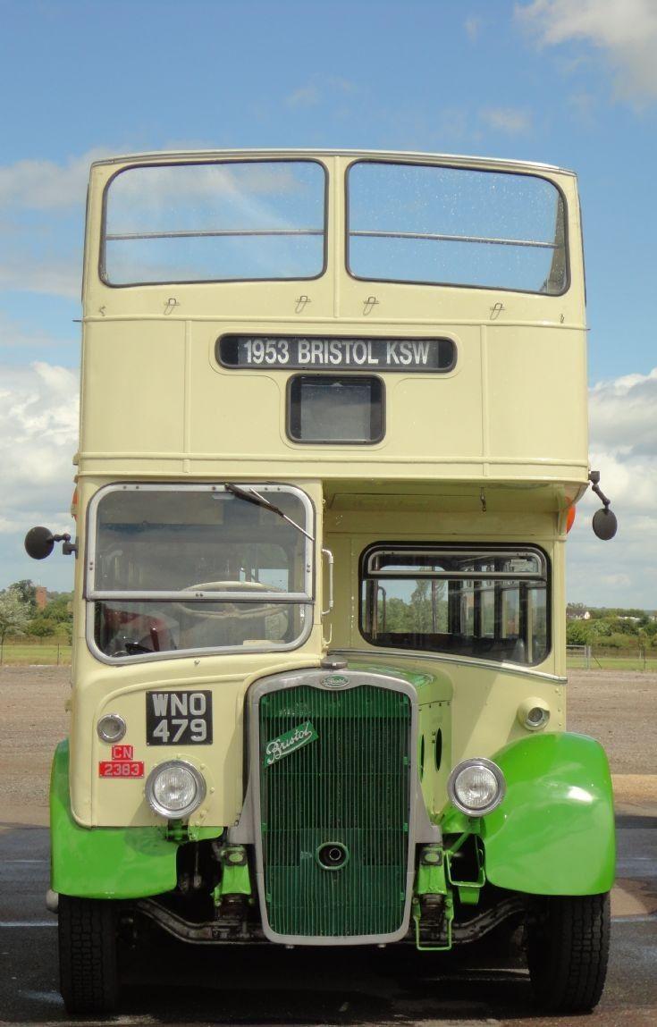 Eastern National : Bristol KSW Eastern National CN2383 (WNO 479) a 1953 open top Bristol K SW