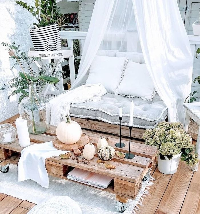 Photo of ▷ 1001 + great tips and ideas for your cocooning balcony decor,  #Balcony #cocooning #Decor #…
