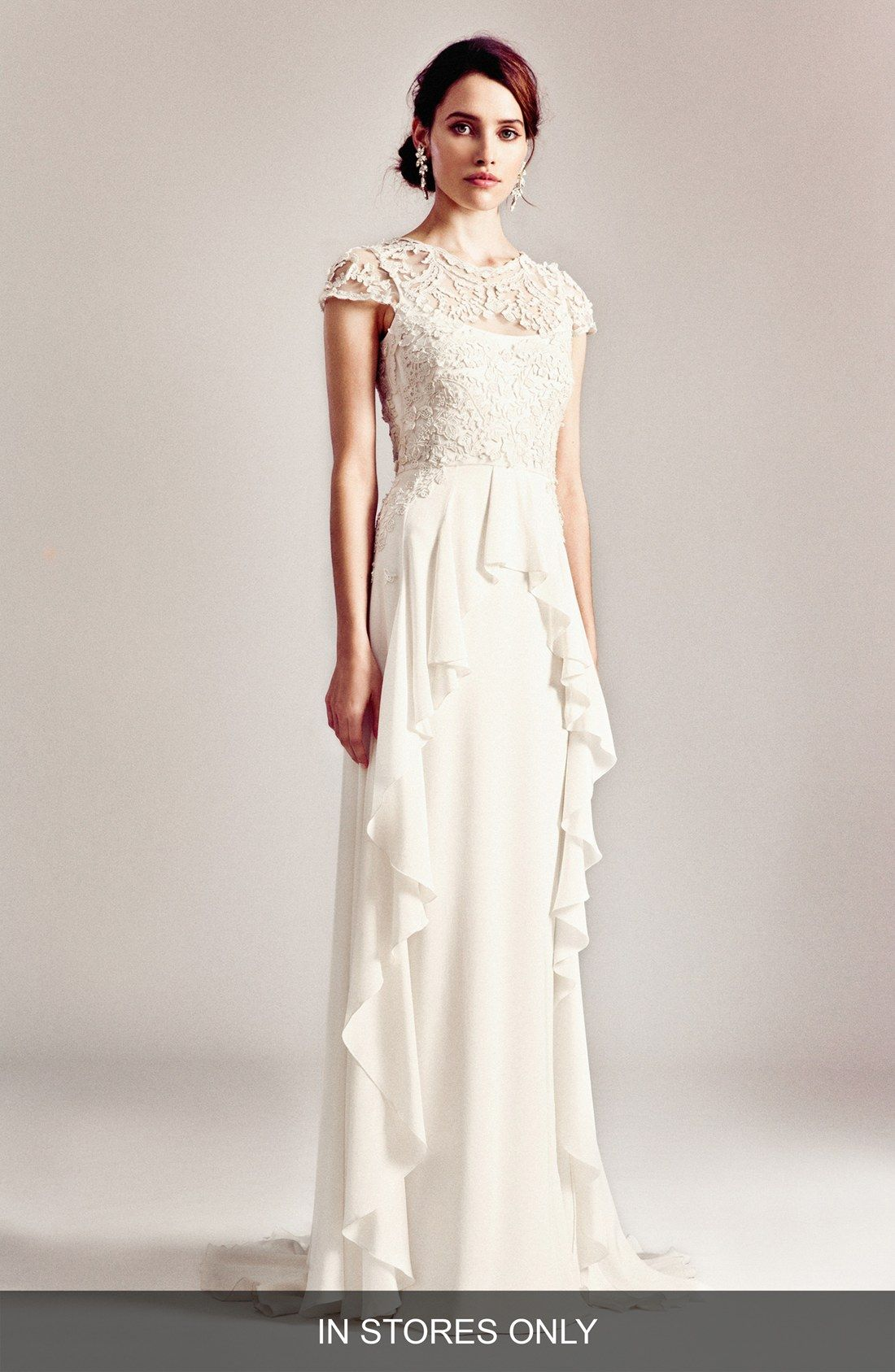 Temperley London \'Bluebell\' Silk & Embroidered Lace Gown (In Stores ...