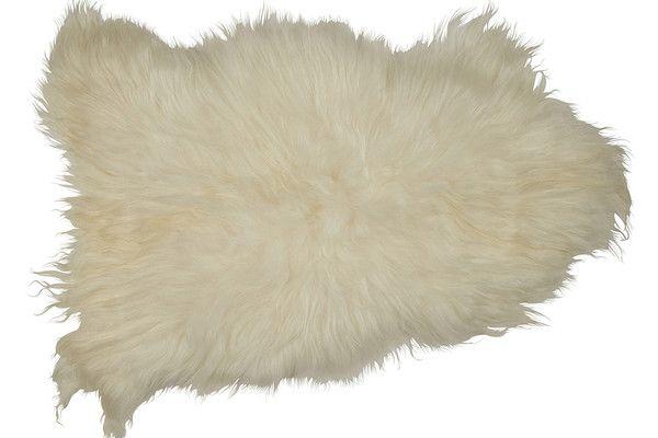 Icelandic Sheepskin in White