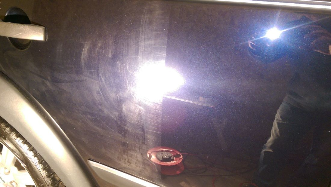 My Paint Correction service freshen up your cars paintwork