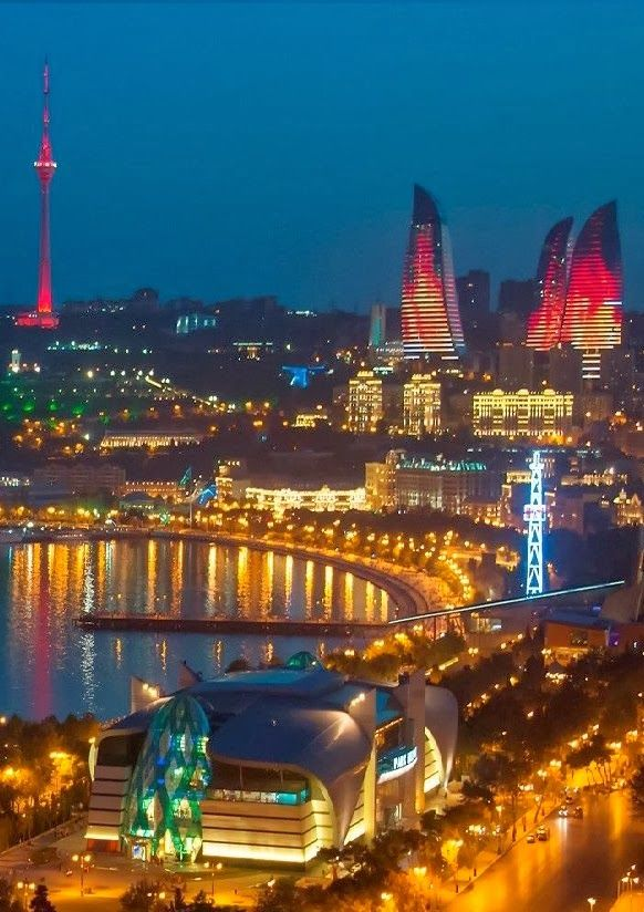 Baku, Azerbaijan  Baku Is The Capital & Largest City Of