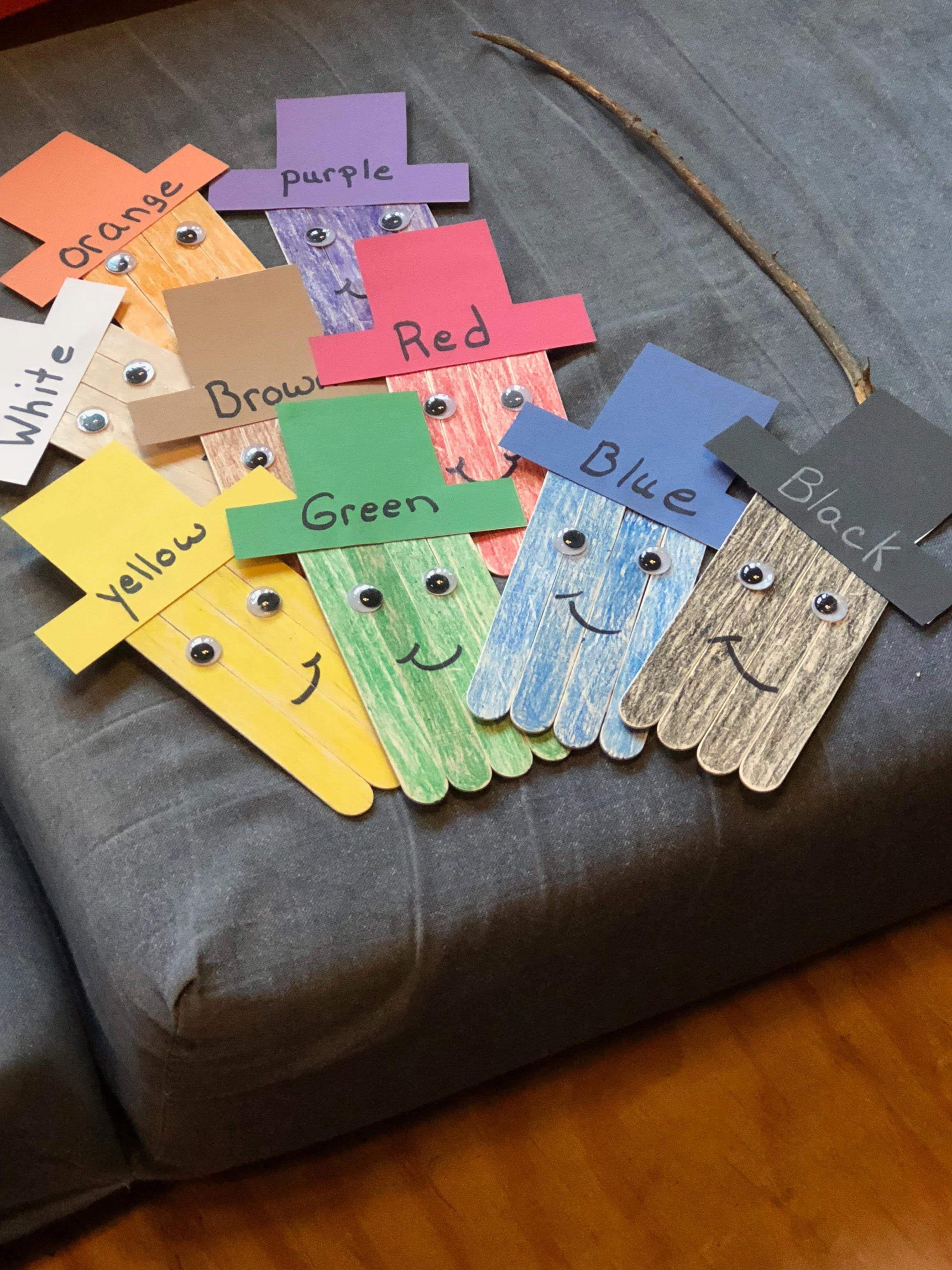 Kids Will Love To Learn Colors And How To Spell