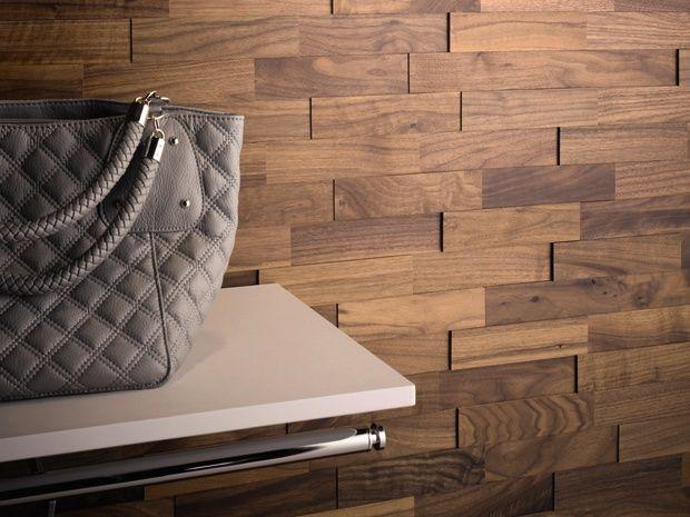 Die Wodewa Echtholzriemchen Aus Nussbaum Bieten Jede Menge Mglichkeiten Fr Innenraumgestaltung Mit Der 3D