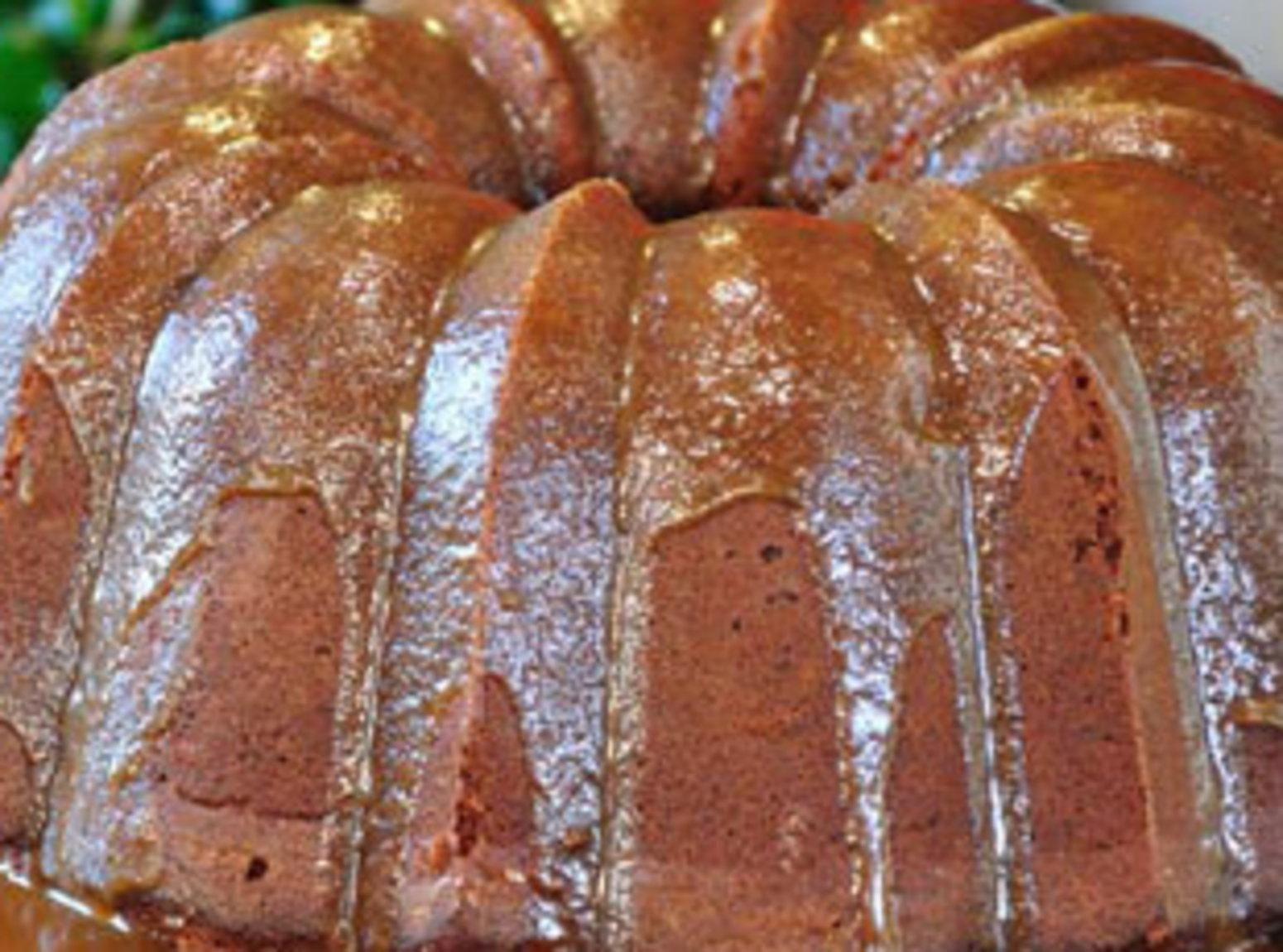 Blackberry Jam Cake with Caramel Icing   Recipe ...
