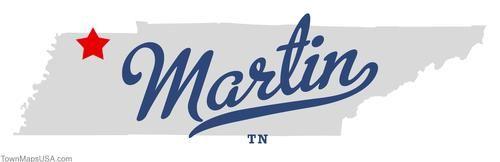 Map Of Martin Tennessee Tn Martin Tn Ut Martin In 2019