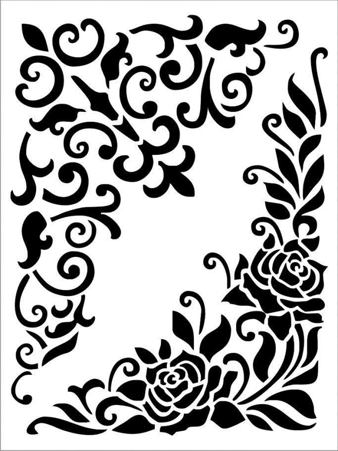 Stencil Printable Stencil Patterns Stencils Printables