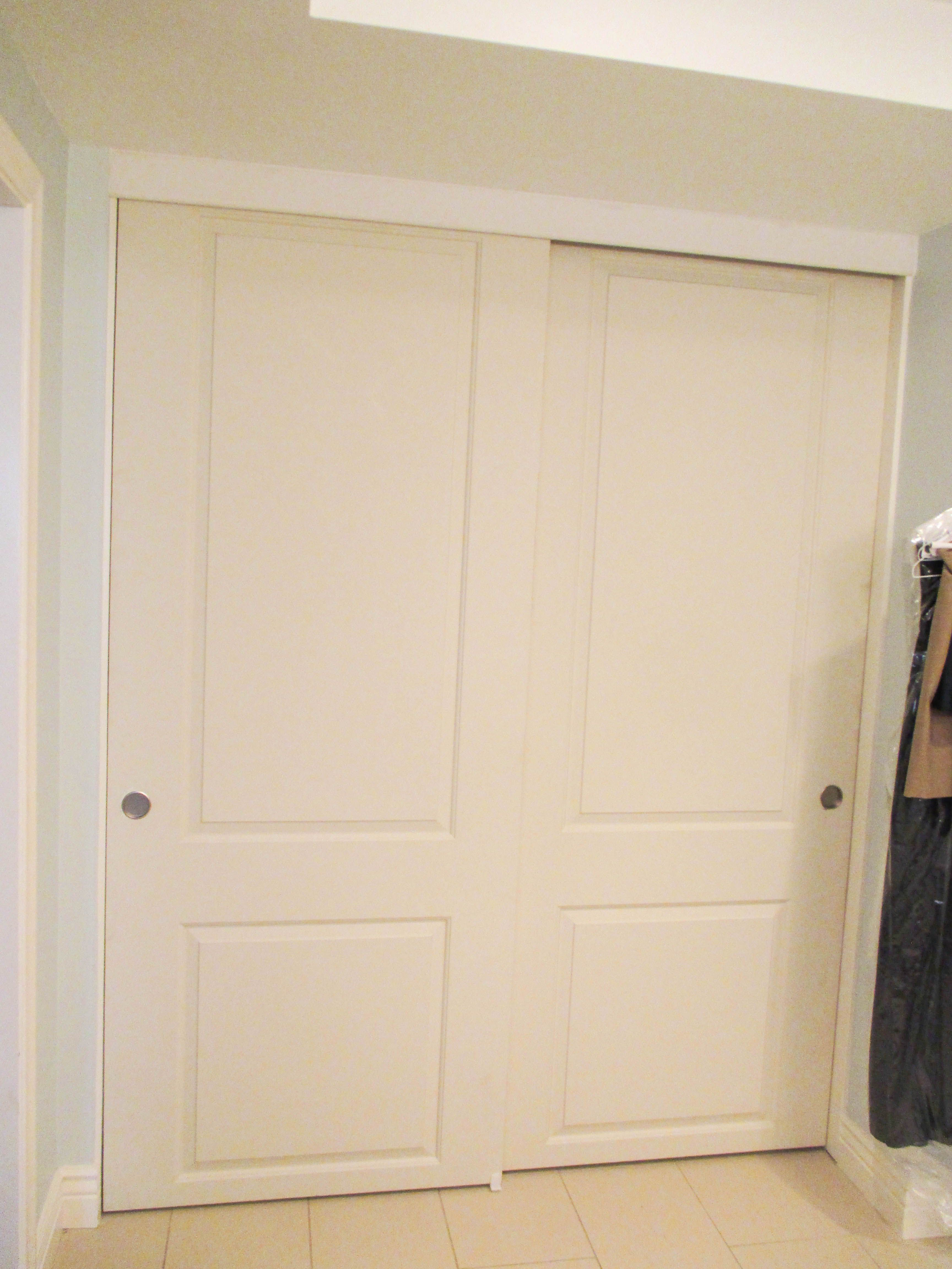 Looking To Install A New Set Of Closet Doors Check Out These 2 Track Panel Top Hung Byp With Colonial Designs That Our Team