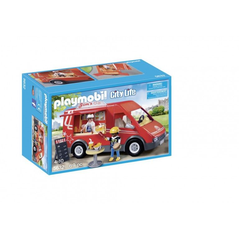 LEON Playmobil City Life Frietkraam 5632 | Playmobil | Pinterest