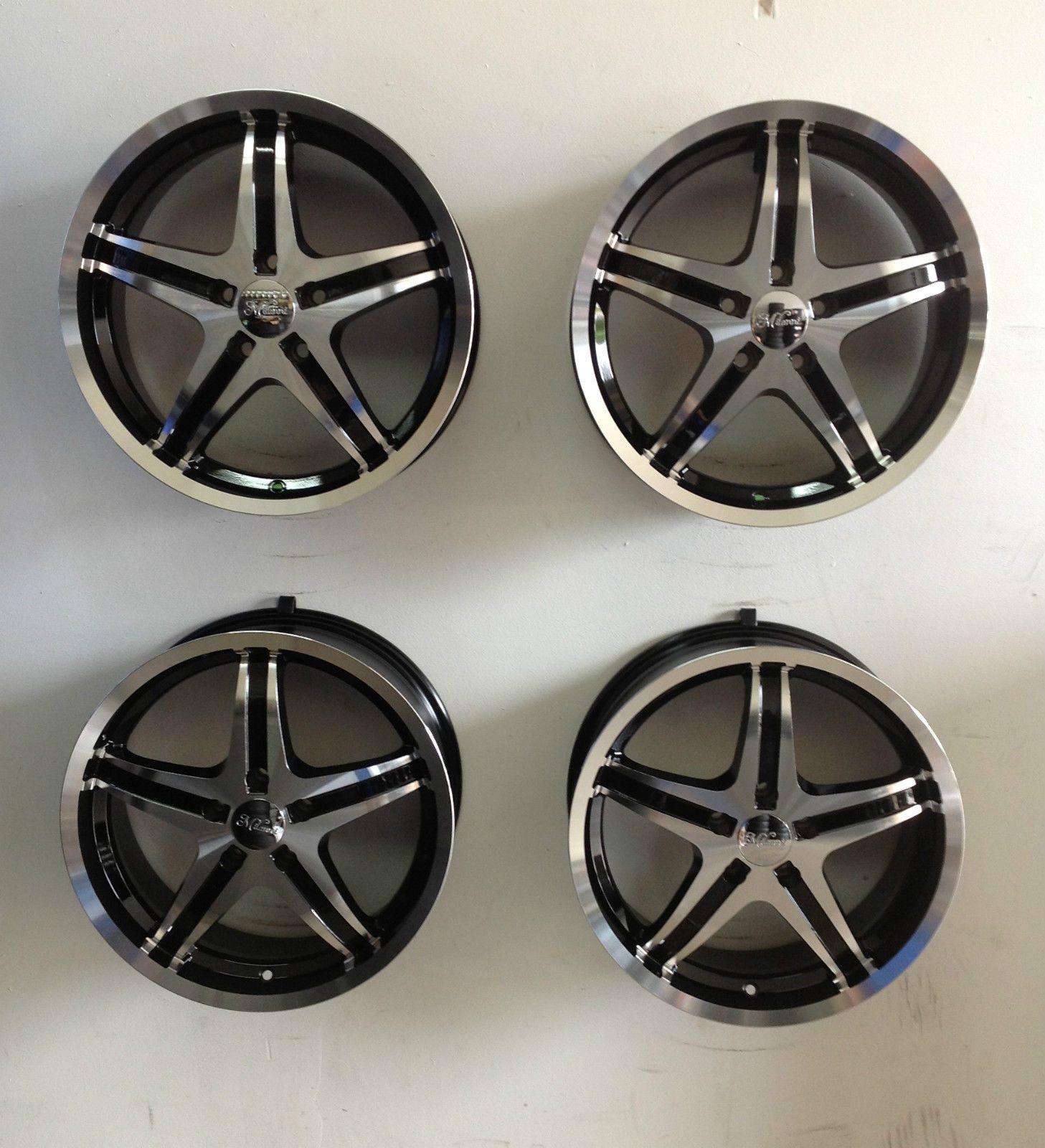 Set 4 Milanni Kool Whip 17 Wheels 17x7 5x110 5 Lug Pontiac G6