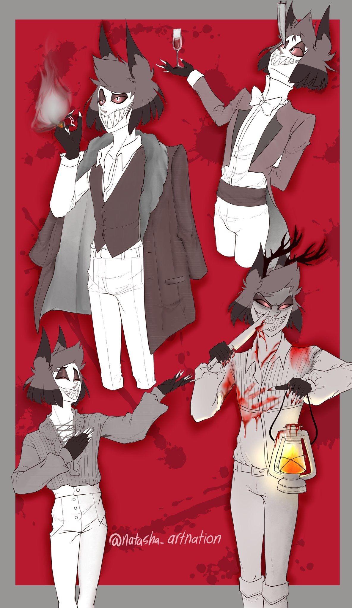 Pin by Mikaji on Alastor (Hazbin Hotel) Anime, Alastor