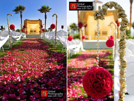 Indian Wedding Ideas A Gold Mandap