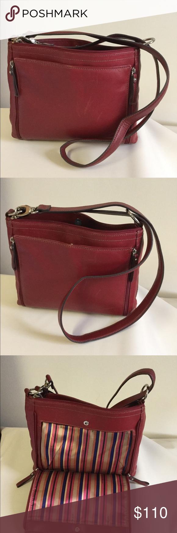 ead446891c3d Tignanello Leather Bag Tignanello Leather Bag Beautiful Design I Love This  Bag Style ALL LEATHER Used