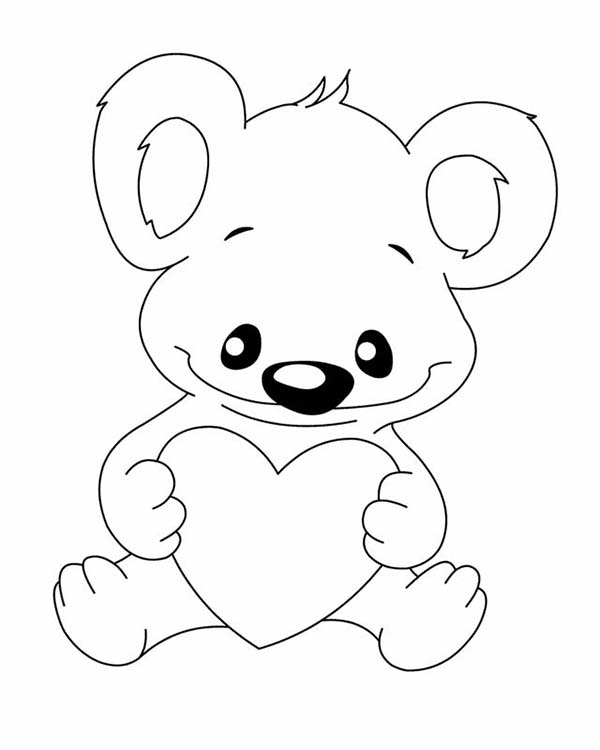 Free Koala Bear Pictures To Color, Download Free Clip Art, Free ... | 750x600