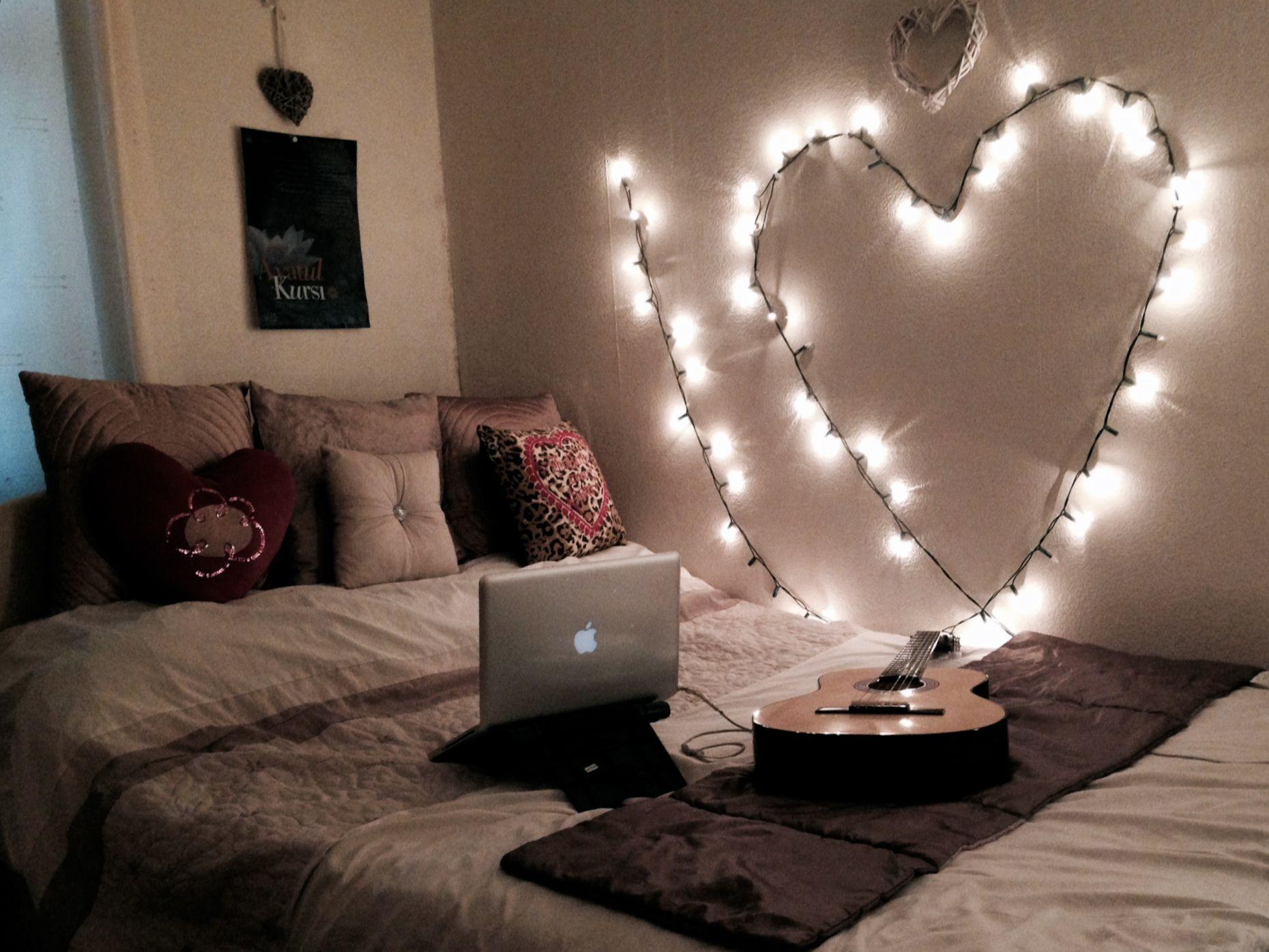 Pin On Project Life Romantic bedroom lighting ideas