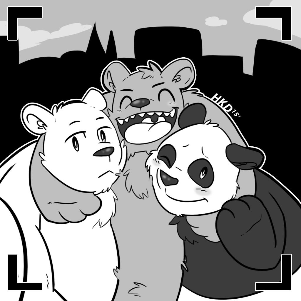 we bare bears grizzly grizz panda ice bear anime cartoons Letter Z we bare bears grizzly grizz panda ice bear