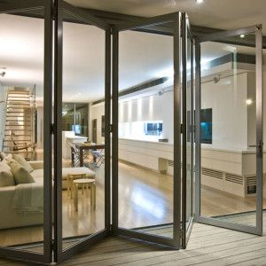 Our Exterior Aluminum Folding Doors Glass Door Folding
