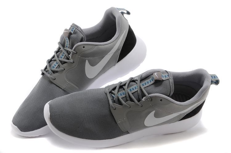 Black Friday - Nike Roshe Run Mens Hyperfuse 3M Grey Carbon Black | Nike  Roshe Run Gray Blue | Pinterest | Nike roshe and Roshe
