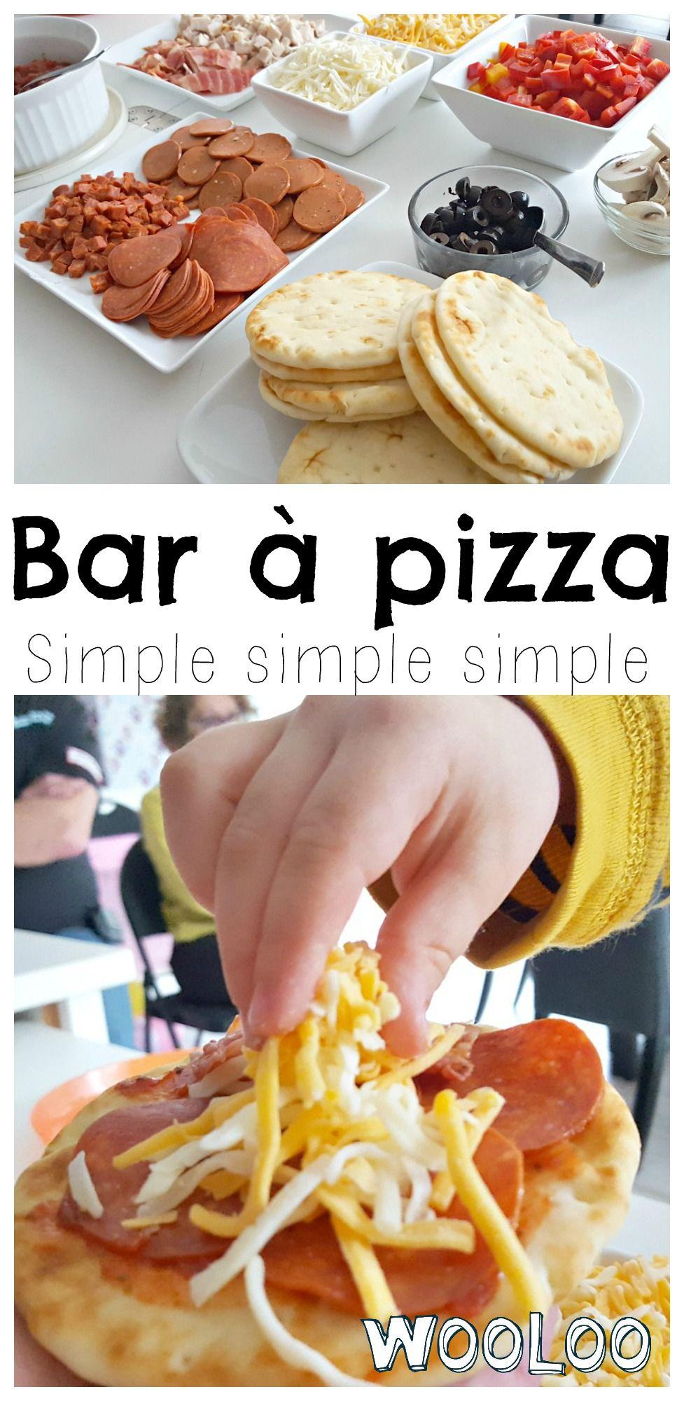 Idée Repas 15 Personnes Bar à Pizza simple simple simple | Recette | Idée repas fête