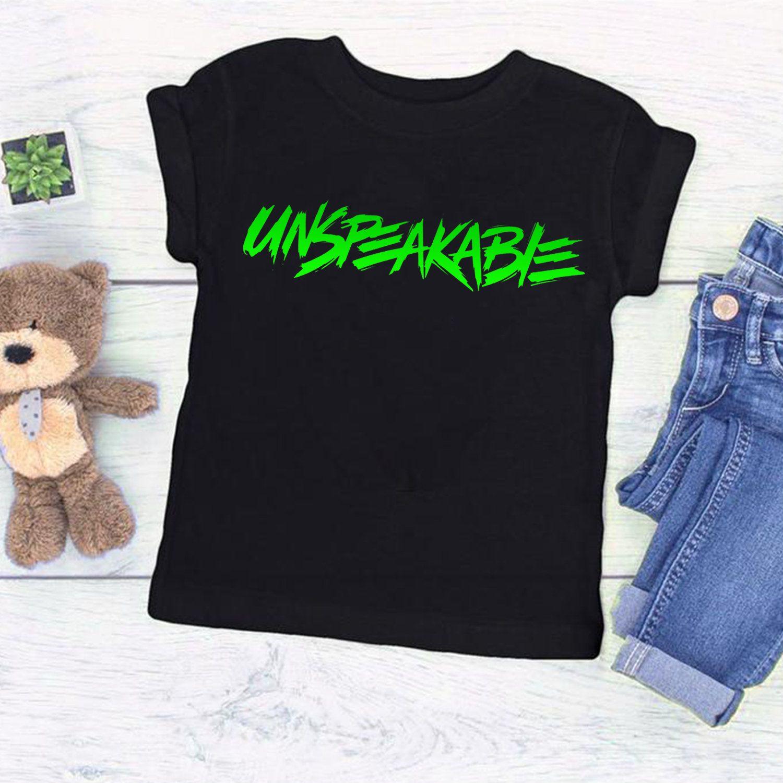 Unspeakable Boys Kids T-Shirt Youtube Gaming Youtuber Vlog Boys Girls T Shirt